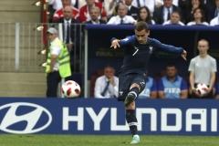 Франция - Хърватия 4:2, финал на Световното по футбол